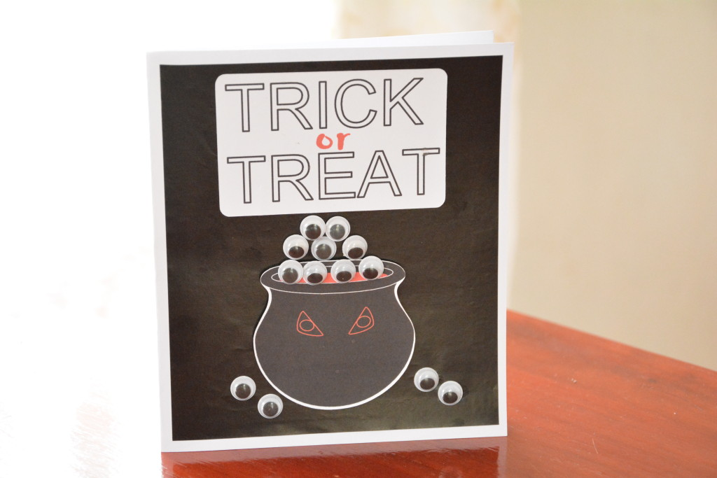 Trick or Treat Card